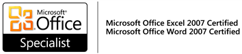 Microsoft Office Excel und Word 2007 Certified Specialist
